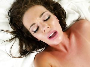 Lusty Moans And Dirty Looks With His Cock Inside Her