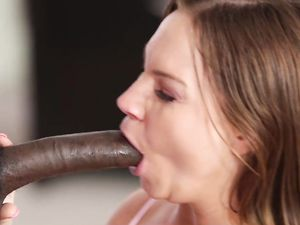 Balls Deep Interracial Sex Leads To A Hot Creampie