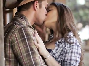 Creampie Sex With Horny Cowgirl Dani Daniels