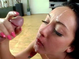 Facial For The Young And Slutty Girl He Pounds