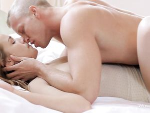 Slipping Into His Lady For Erotic Missionary Sex