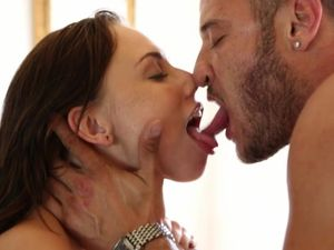 Pornstars And The Horny Guy Have A Threesome