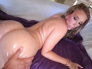 Young And Curvy Cock Whore Gets A Big Facial
