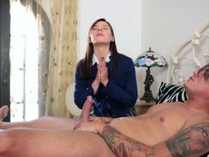 God Loving Girl Decides To Give Him Anal Sex