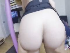 Blonde Babe Getting Her Tight Pussy Fucked