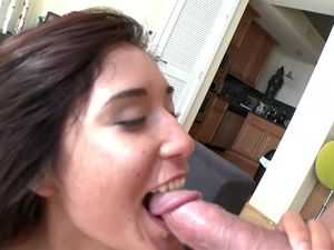 Luscious Brunette Princess Enjoys Sucking And Fucking