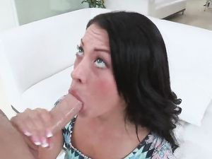 Stunning Teen Enjoys Getting Fucked By Huge Dong
