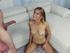 Skinny Porn Plaything Likes Being His Fuck Slut