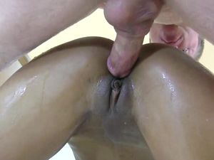 Sweating And Squirting During Interracial Sex