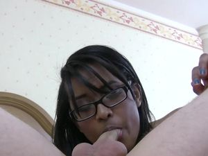 Hot Messy Facial For A Horny Black Teenager