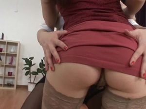 Slutty Cock Pleasers Both Want Hot Anal Sex