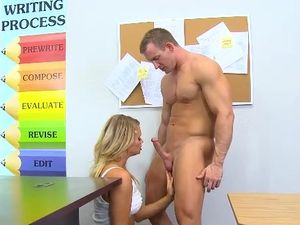 Spying On A Masturbating Teen Gets Him Laid