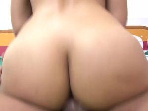 Fake Boobs And Curvy Hips On A Latina Fuck Slut