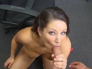 Dick Sucking Southern Girl Has Gorgeous Big Titties