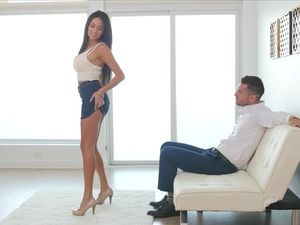 Anally Plugged Seductress Is Ready For Her Ass Fucking