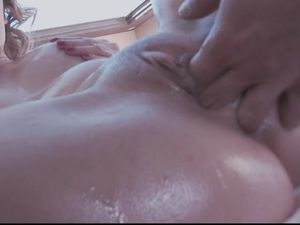 Young Oiled Ass Anally Pounded Outdoors