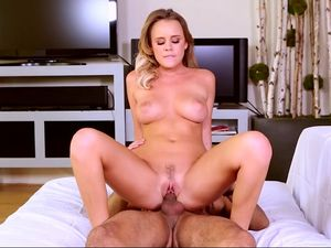 Big Breasted Beauty Loves The Taste Of His Hot Cum