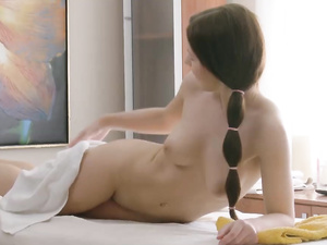 Great Teen Tits On This Massage Table Slut