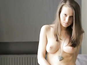 Gorgeous Young Body On Display As She Masturbates