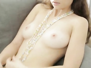 Beautiful Teen Tits Out As A Teen Masturbates