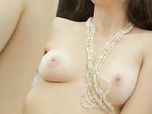 Beautiful Teen Tits Out As A Teen Masturbates
