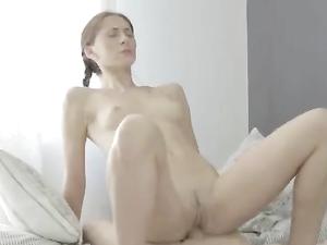 Sensual Teen Blowjob And Beautiful Ball Sucking